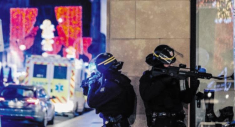 Trois morts dans une fusillade à Strasbourg