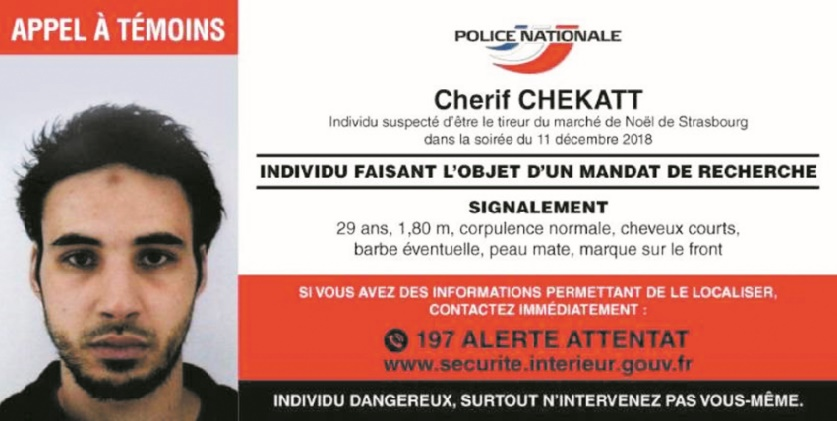 Le jihadiste de Strasbourg, un homme au lourd passé judiciaire