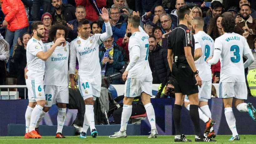 Liga : Le Real  se rassure avant le Mondial