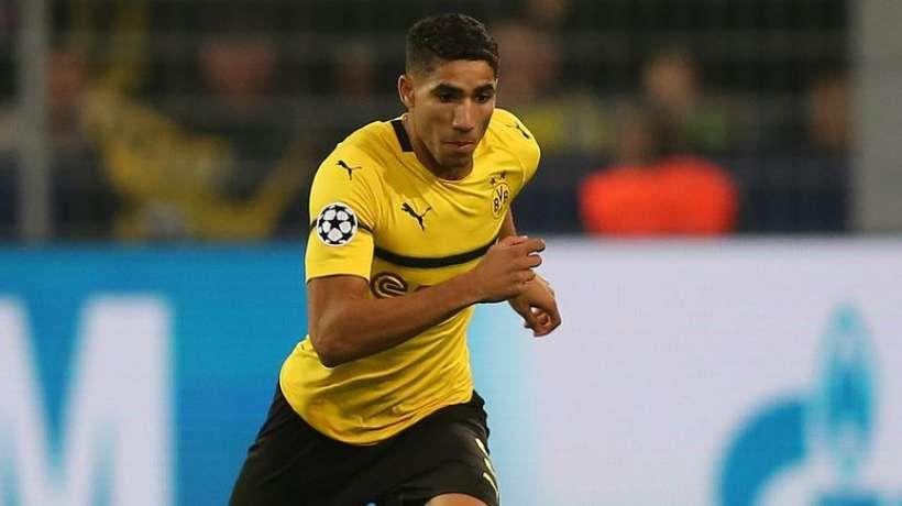 "Achraf Hakimi, un ""élément clé"" du Borussia Dortmund"