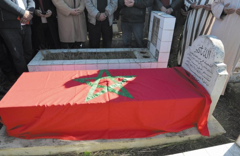 Driss Lachguar et une délégation de l'USFP se recueillent sur la tombe du martyr Omar Benjelloun