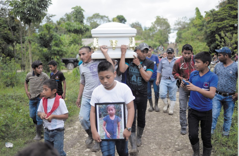 Emoi après la mort d'un deuxième enfant migrant détenu aux Etats-Unis