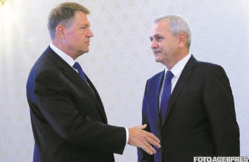 """Klaus Iohannis et Liviu Dragnea : Le duel des """"présidents"""" en Roumanie"""