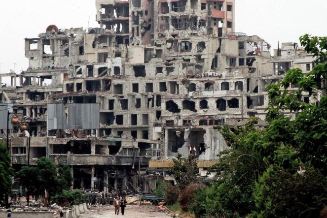 L'année 2018 dans le monde : La Syrie en ruines