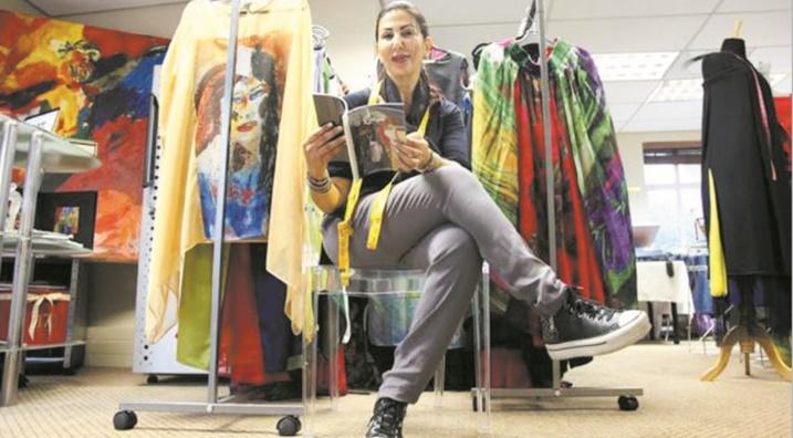 Loubna Ayouch, une styliste marocaine au pays de Mandela