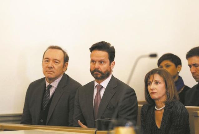 Kevin Spacey inculpé d'agression sexuelle, plaide non coupable