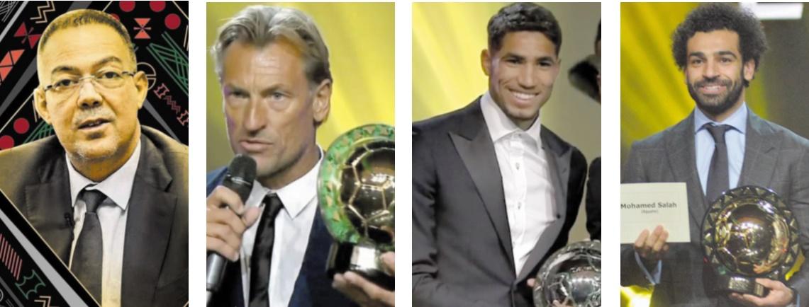 Le Maroc sous les feux de la rampe aux CAF Awards