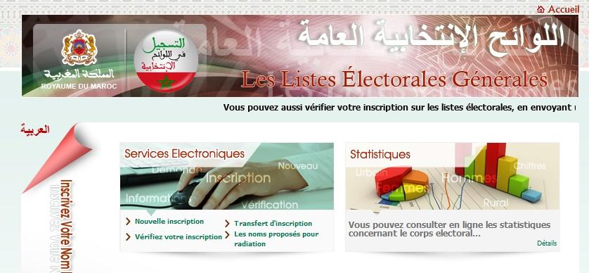 Révision annuelle ordinaire des listes électorales générales