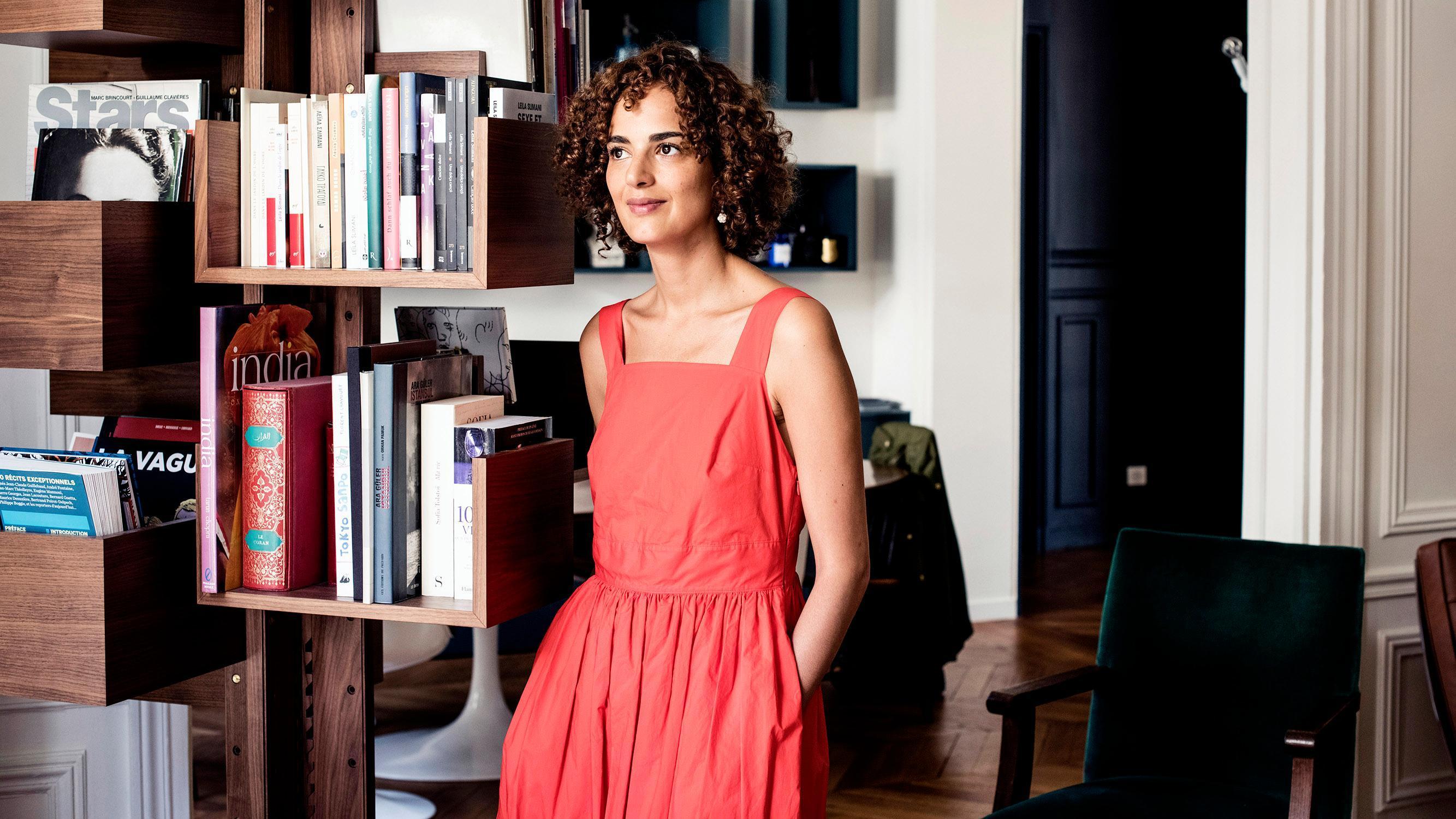 Leila Slimani  au Festival  du roman policier de Barcelone