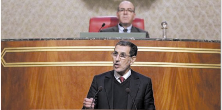 Le chef du gouvernement devant la Chambre des conseillers