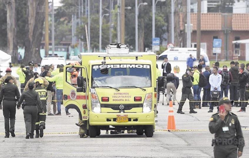 21 morts dans un attentat contre l'école de police à Bogota