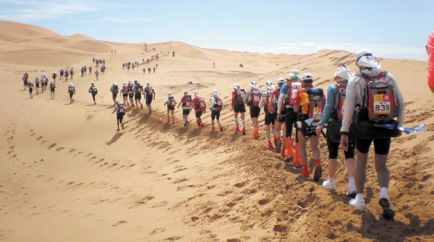 1000 concurrents au 34ème Marathon des sables