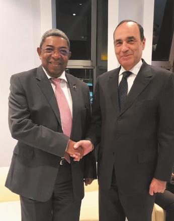 Habib El Malki s'entretient avec son homologue malgache