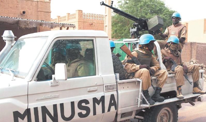 Dix Casques bleus tchadiens tués dans la pire attaque contre l'ONU au Mali