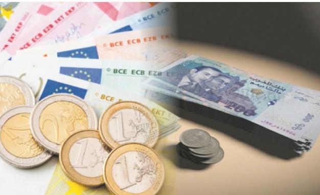 Le dirham se déprécie par rapport à l'euro et vis-à-vis du dollar