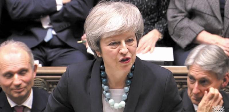 Theresa May compte retourner discuter du Brexit à Bruxelles