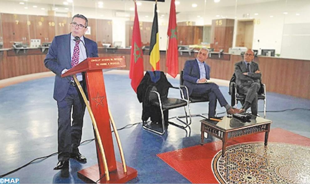 Mohamed Ameur appelle les Marocains  de Belgique à se mettre en première ligne pour la défense des acquis de la nation