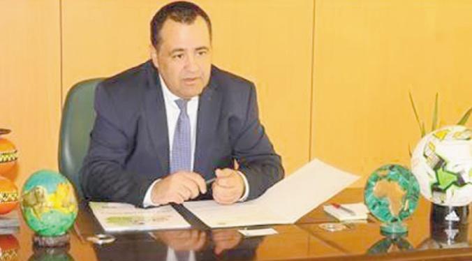 Hajji, coordinateur général de l'administration au sein de la CAF