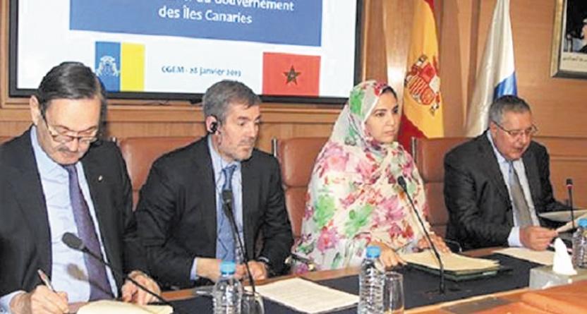 Volonté commune de développer la coopération maroco-canarienne