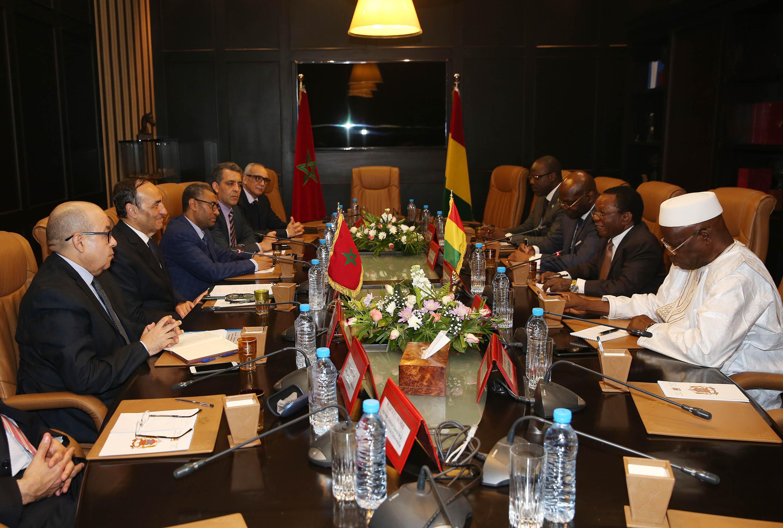 La Guinée réitère son soutien  à l'intégrité territoriale du Maroc