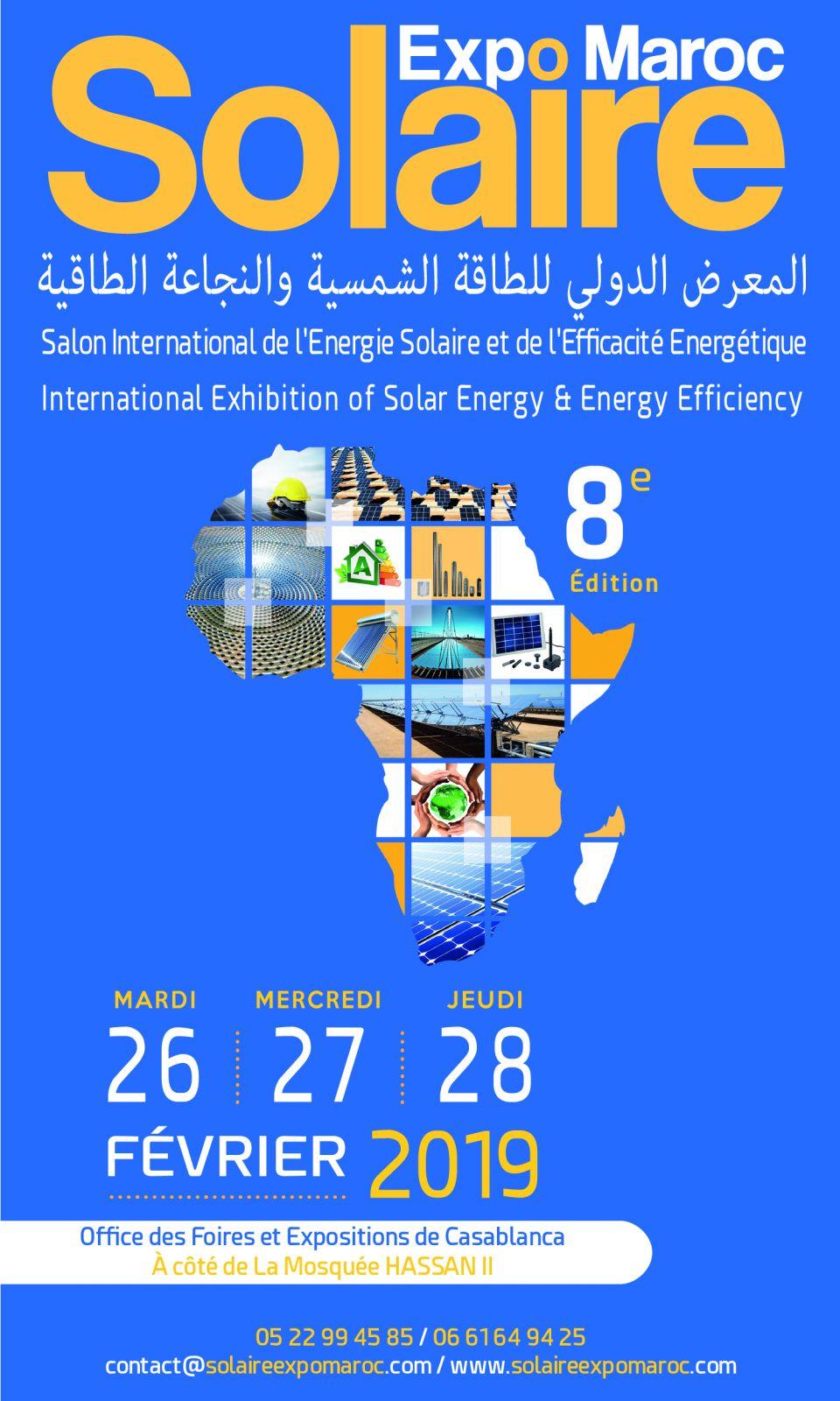 8ème  édition  de Solaire Expo Maroc