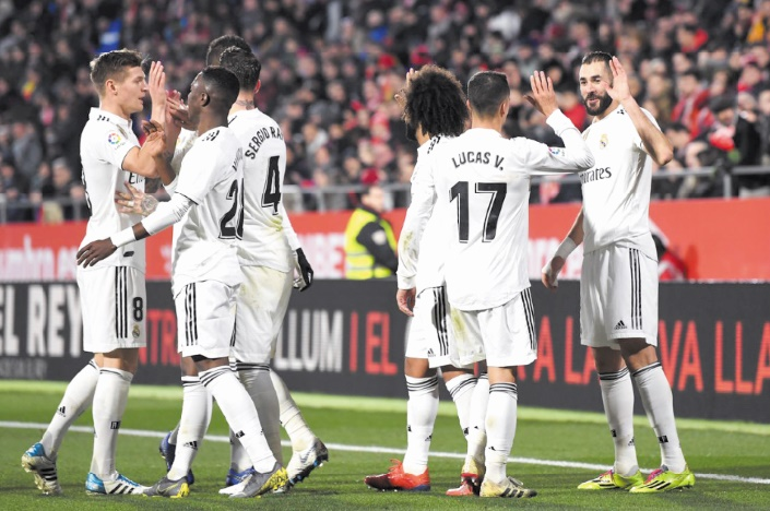 Liga : Le Real se rapproche du Barça
