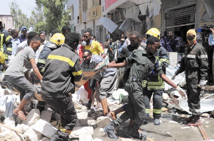 Au moins 9 morts dans un attentat sur un marché de Mogadiscio