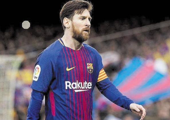 Le Barça s'entraîne sans Messi