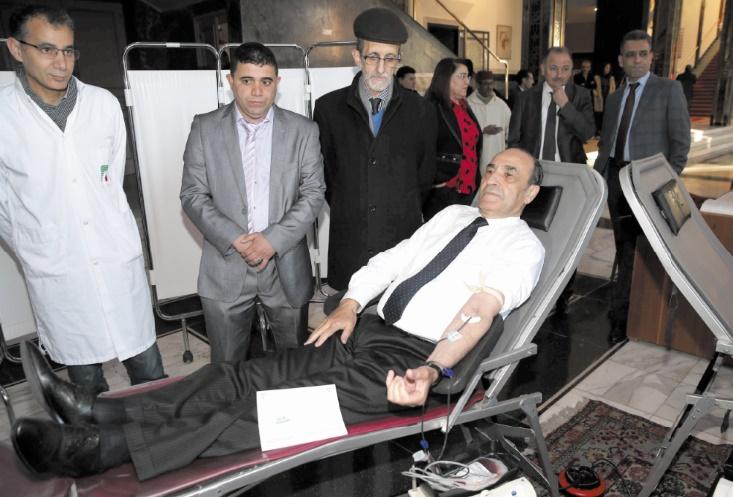 Campagne de don du sang à la Chambre des représentants