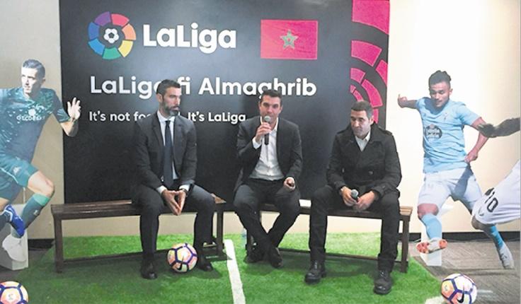 La Liga en campagne promotionnelle au Maroc