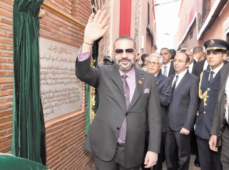 S.M le Roi inaugure deux projets solidaires à Marrakech