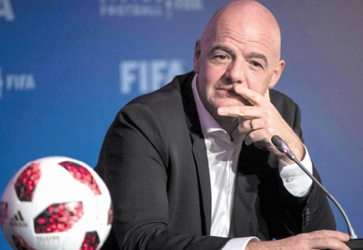 Infantino seul candidat à sa succession à la présidence de la Fifa
