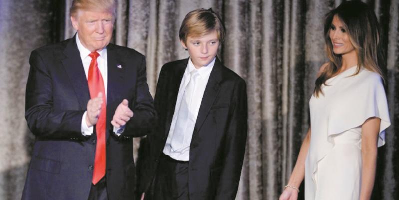 Trump préfère voir son fils jouer au football qu'au football américain