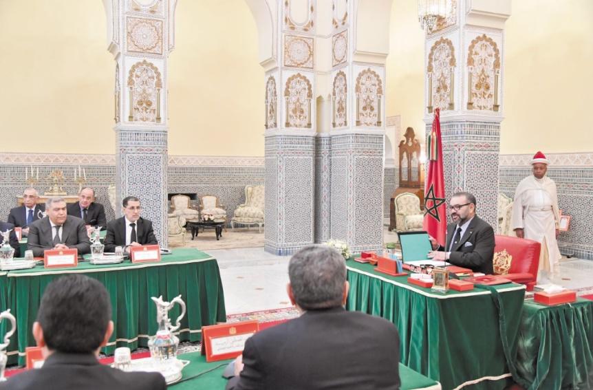S.M le Roi préside un Conseil des ministres à Marrakech