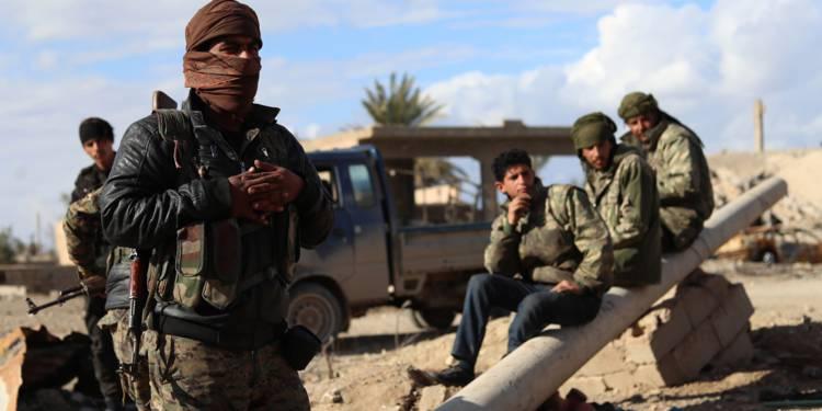 En Syrie, une alliance arabo-kurde  lance sa bataille finale contre l'EI