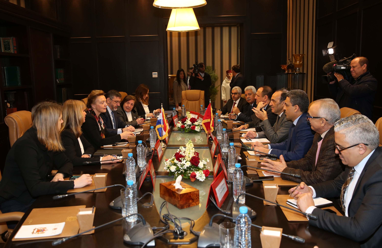 Vers le raffermissement  des relations maroco-croates