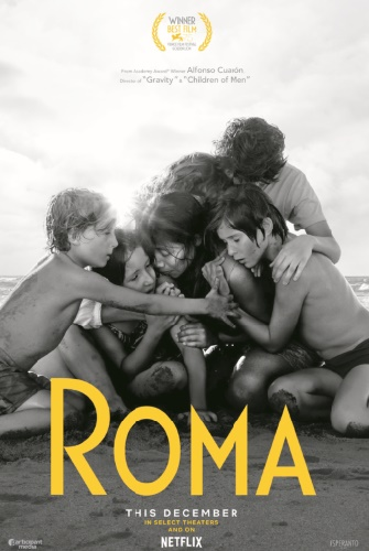 """""""Roma"""", une production Netflix, triomphe aux Bafta"""