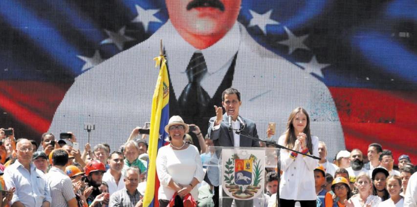 Guaido défie Maduro et annonce l'entrée de l'aide le 23 février