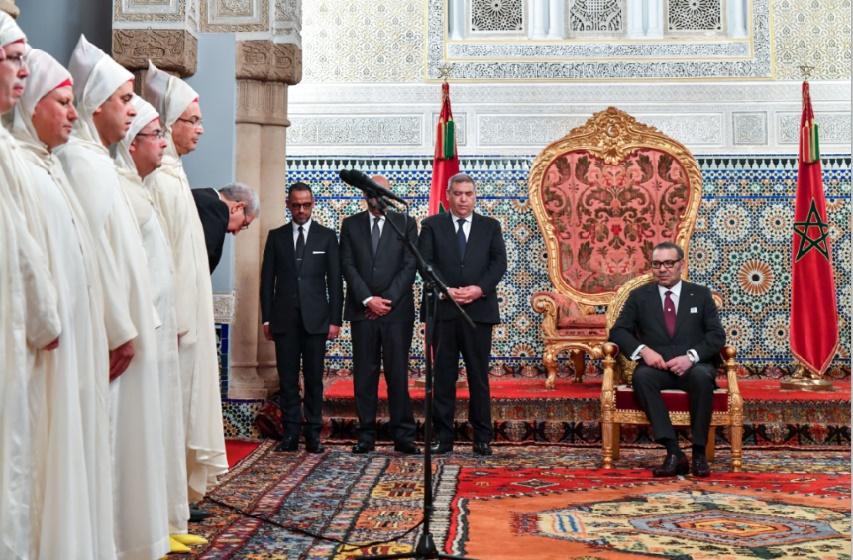 S.M le Roi reçoit les walis et gouverneurs nouvellement nommés