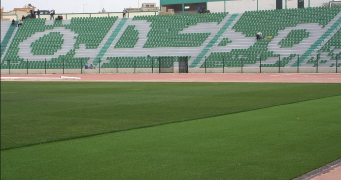 Fin prêt, le stade d'Honneur d'Oujda accueille le derby de l'Oriental