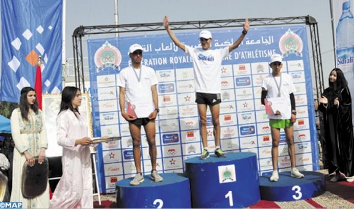 Victoire de Keltoum Bouaâssria et Mustapha Hedadi au championnat national de cross-country