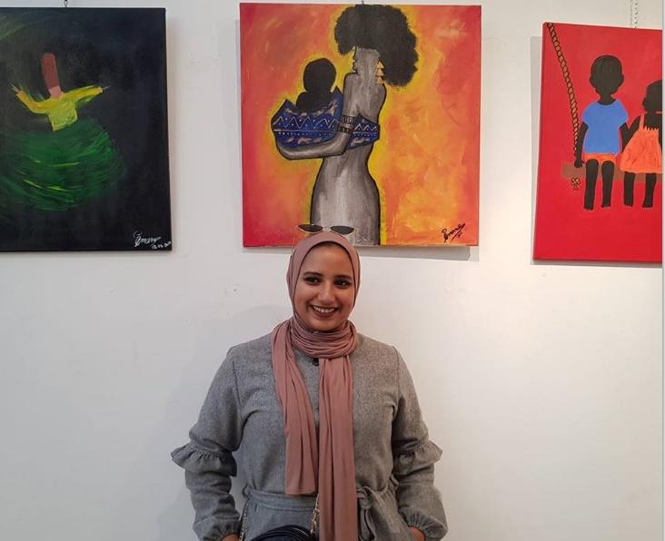 Imane Moustarhfir, une jeune plasticienne jdidie prometteuse