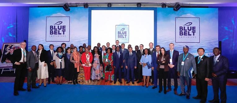 """Soutien international à l'initiative """"Ceinture bleue"""" lancée par le Maroc"""
