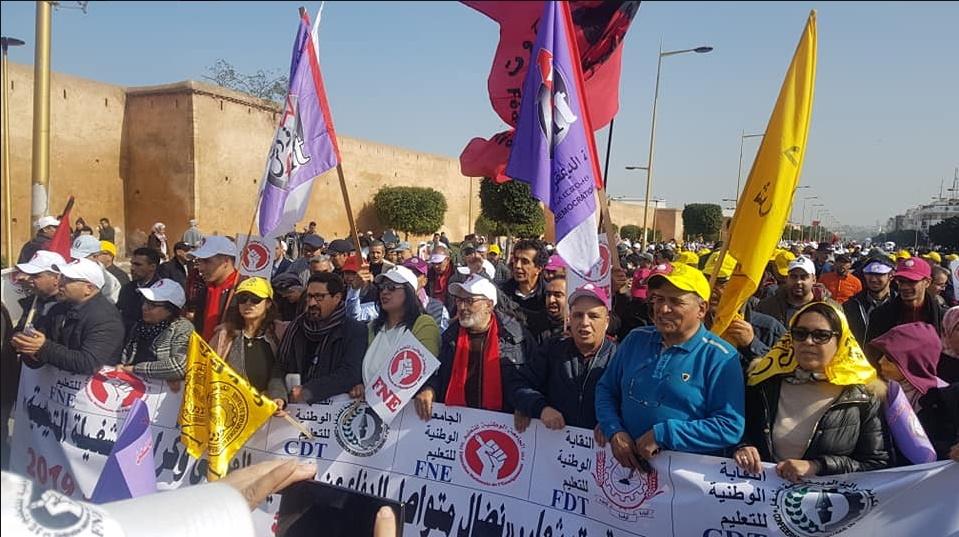 Le satisfecit des syndicats : Grève réussie