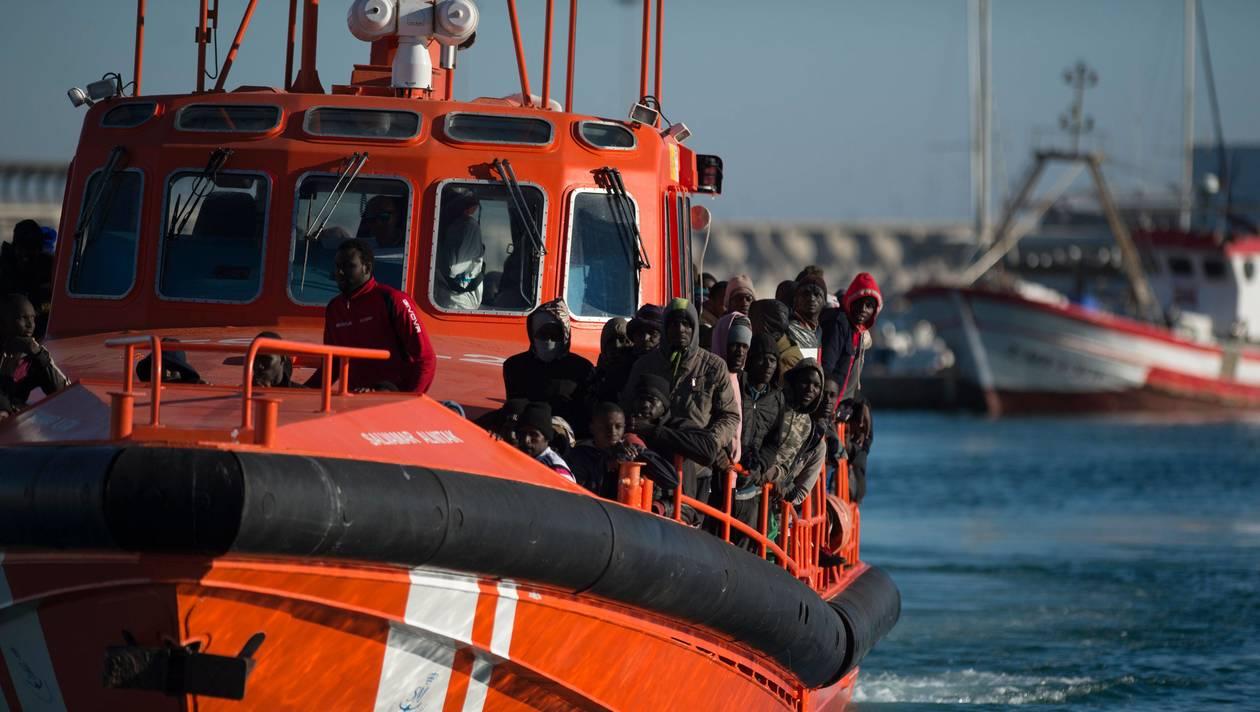Les migrants repêchés par la Marine espagnole ne seront pas débarqués au Maroc