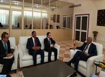 Abdelkrim Benatiq reçu à Bamako par le Premier ministre malien
