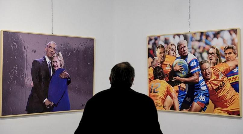 Insolite : Quand Trump est la muse d'un peintre albanais