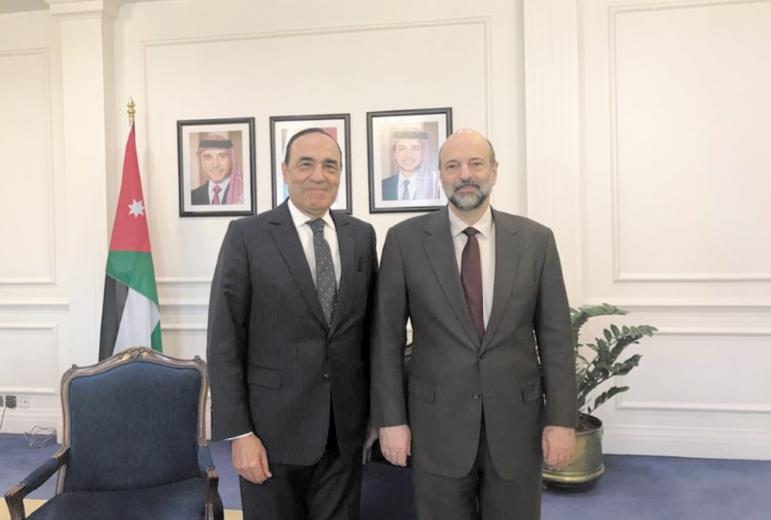 Habib El Malki et Omar Rezzaz.