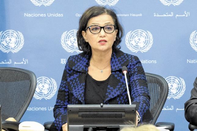 Najat Rochdi nommée conseillère humanitaire pour la Syrie