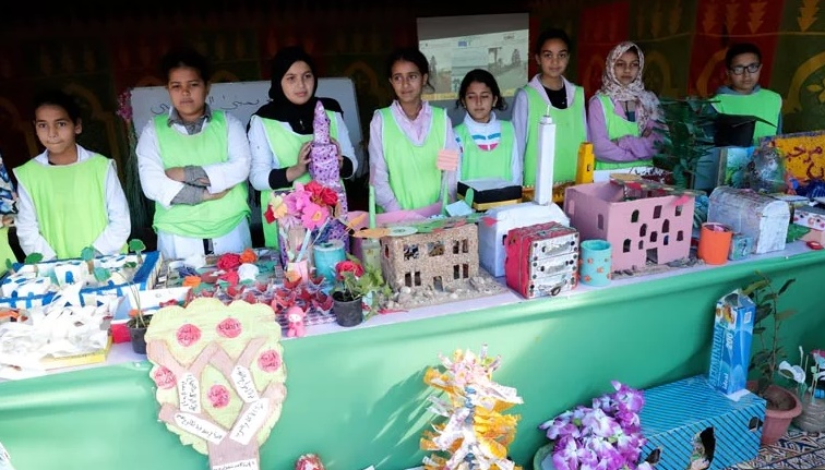 Remise du Pavillon Vert de la Fondation Mohammed VI pour la protection de l'environnement à des établissements scolaires